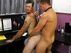 He finds himself on his knees, sucking Drake's ramrod until his superior returns the favor gay anal piss at My Gay Boss