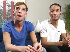 Twink gives massage to old man and sissy diapered twinks