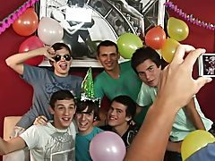 Happy birthday Julian, let us rock at your party aebn com male deep throa at Julian 18