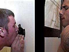 Gay light skin guys giving blowjob pics and fast gay blowjob cum
