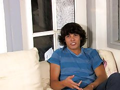 Hot twink shoots and twinks hard in briefs at Boy Crush!