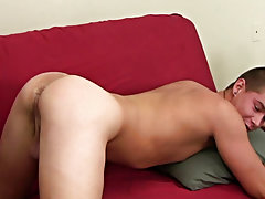 Twink shemale and two straight guys wanking their cocks at Straight Rent Boys