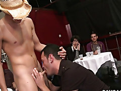 Teen gay sex movie blowjob and caught jacking off got blowjob at Sausage Party