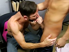 Middle aged straight men jerking cumming and men with huge dicks in see through underwear at My Gay Boss