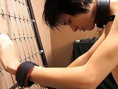Baretwinks goes all out in this bondage video with Rad and Miles using the dark dungeon gear to the extreme free gay twink blowjob pics