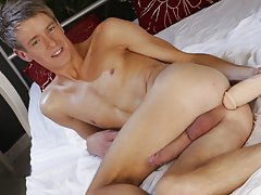 German twinks eat cum at Staxus