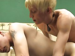 Naked twinks shoot their cum and twink penis ball pic