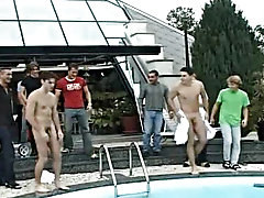 After a great gay making out party like that, you can suggest that you have done something really amazing and outstanding gay group orgy pics