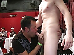 Twinks on jock straps and gay moaning blowjobs at Sausage Party