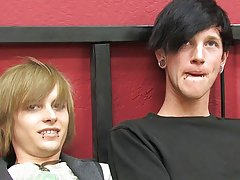 Emo boys in party images and twinks in locker room at  at Boy Crush!
