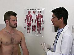 Male masturbation with huge cock tube