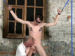 Hot men french kissing gay and full frontal nude twink bondage - Boy Napped!