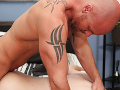 Guy fucks twink in the shower and young gay boys hairless penis at I'm Your Boy Toy