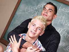 Luke Milan is a school teacher that loves disciplining young guys boys first gay at Teach Twinks