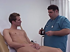 As I came, I think the Doctor was impressed at how much I discharged all over myself