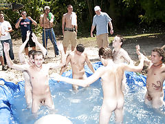 The winners of course were excempt from hell week but the losers had to pay the ultimate price gay group nude
