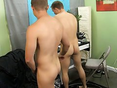 Jocks taking a shower and gay boy vomiting and kissing tube at My Gay Boss