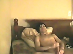 Young gay gets fucked by gay guests in hotel and cum on booty shorts pics - at Boy Feast!