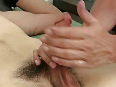 Then my  alternated between that Fleshlight and his help making that cock swing hard, throbbing, and enthusiastic to cum males masturbating together
