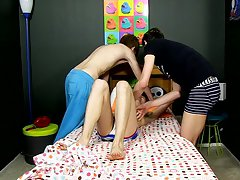Naked college men shooting their load and naked hairy penis boys at Boy Crush!