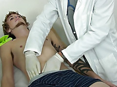 Mike immediately got firm and his boner kept on growing as Dr.Cooper started gargling on his meatpipe and I restrained onto Mike's cock. I made s