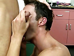 AJ needed to cum badly so this chab got on his knees and let the doctor proceed his oral pleasure assault on the nurse's cock long gay blowjobs