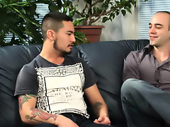 Gay group and one guy sex group