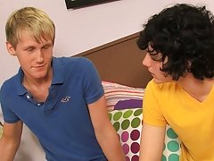 Josh fucks a very noisy Hayden all over the bed before straddling his chest, squirting cum clear over his face hot amateur gay twinks fre
