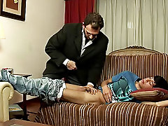 Barely attentive, the boy jumped up and slammed his cock straight into his older lover's poop chute gay anal first time