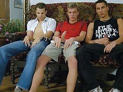 This video also features a threesome scene and it will captivate you from the beginning until the end group of straight men ge