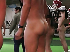 They wrapped things off in the locker room where the two losers had to fuck and suck gay anal groups