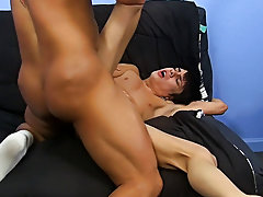 Bareback anal shit out semen and gay men fucking in fire station at Bang Me Sugar Daddy