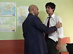When he made himself clear, the student got horny and agreed, taking out his veiny weapon and let the teacher wrap his hungry lips around it mature ga