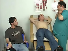 Dr. Dick asked Anthony to engulf my shlong to watch if that would acquire me hard, and I had no idea what to say or do gay milking cum teasing