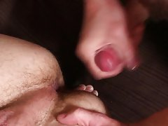 Gay banana anal image and male by male massage with blowjob and cum shot
