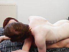 He moans an groans so loudly while large dicke'd Sean copulates him hard until that guy cums young boys porn - Seans boys!