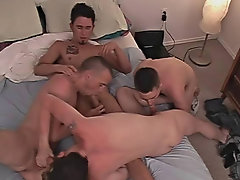 Gay slave groups and free movies of hot gay groups having sex
