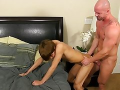 Horrible boss Mitch Vaughn wasn't impressed when he caught his assistant, Kyler Moss, ogling the fresh boy at the office.