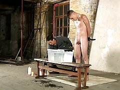 Uncut male body builders and electric man bondage - Boy Napped!
