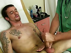 Jake was moaning and being driven mad by how supreme it all felt. He felt his prick harden as his ass getting nailed by the small dildo. His prostate