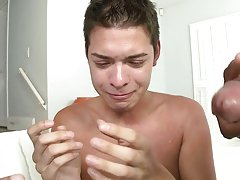 Twink cumshot movie