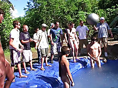there is nothing like a nice summer time splash, notably when the pool is guy made and ghetto rigged as fuck