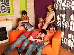 Gay group sex movies and gay groups for sex victorville ca at Crazy Party Boys