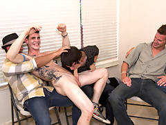 Nude male group photos and gay nudist groups at Sausage Party