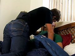 The young stud can't resist male teen hardcore haircuts at My Husband Is Gay