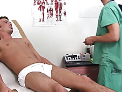 I needed to take a thorough exam of his penis and scrotum to settle amicably sure it was working correctly and there were no scares and damage to this