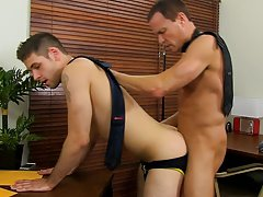 Unprotected gay anal sex and glory hole gay anal at My Gay Boss