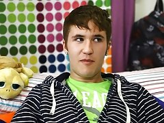 Kain Lanning is a hot little guy from Iowa free gay twink video