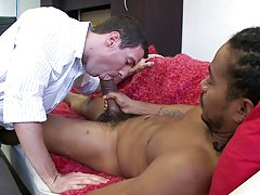 Matthew also liked nursing on that dick cause he literally sucked castro's cock clean big hairy gay cocks