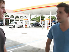 In this weeks out in public update...were off doing our thing me and the homie from california...so were hanging by the gas station and guy that guy h